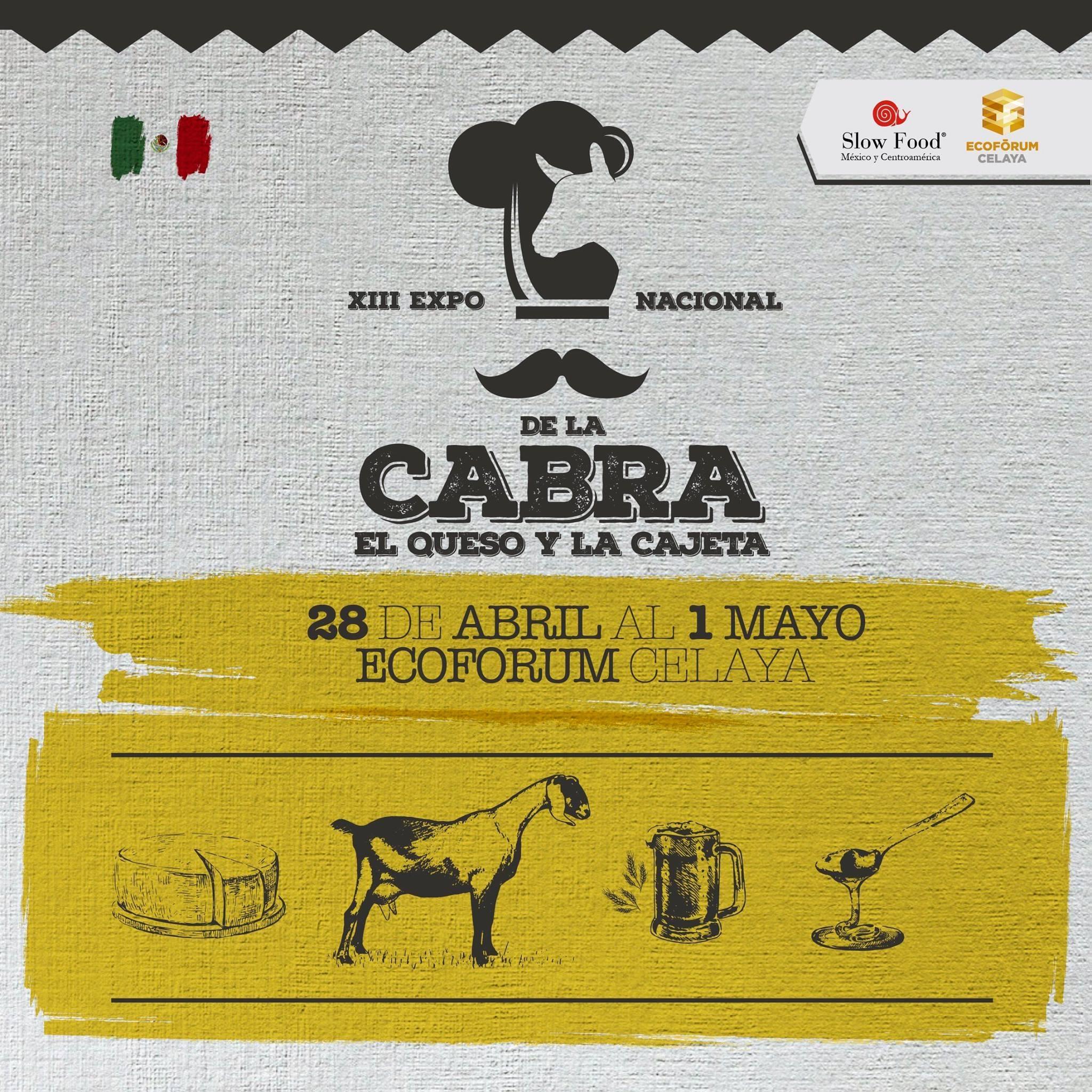 Expo Nacional de la cabra el queso y la cajeta Celaya logo
