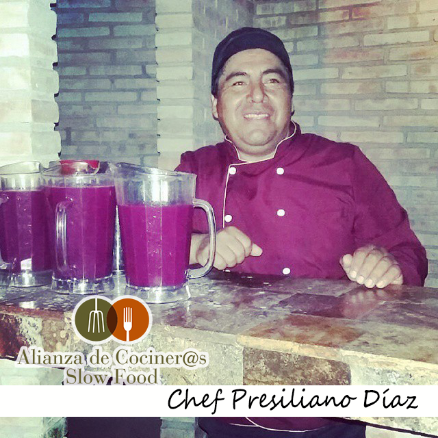 Chef Presiliano Díaz