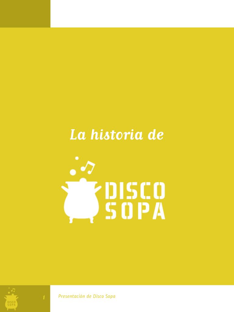 Disco Sopa Slow Food