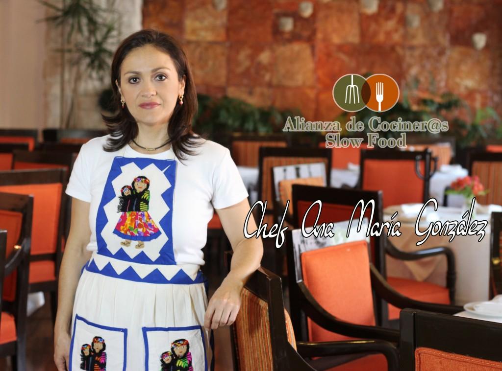 Chef Ana María González