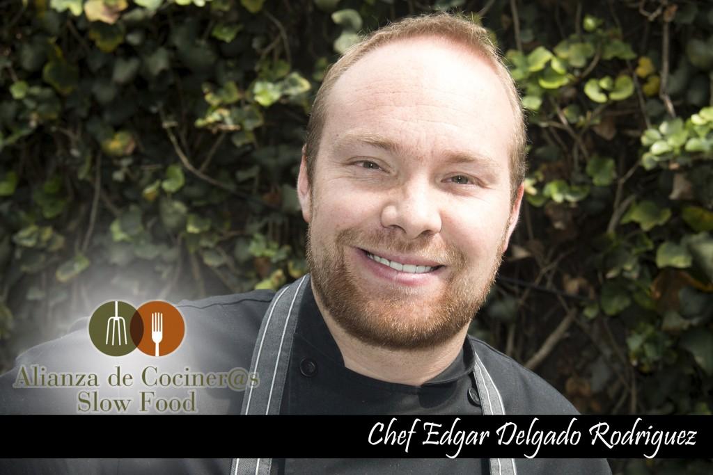 Chef Édgar Delgado